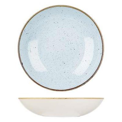 CHURCHILL STONECAST BOWL 182mm / 426ml, DUCK EGG