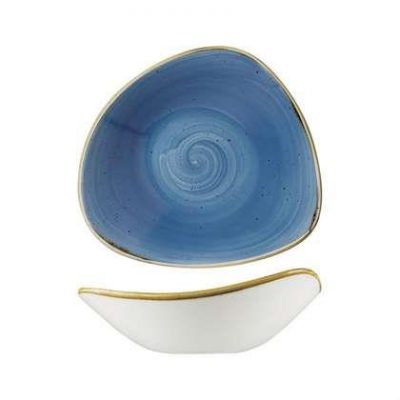 CHURCHILL STONECAST BOWL-TRIANGULAR, 230mm(CB)