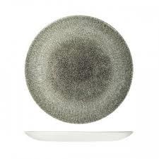 CHURCHILL RAKU BOWL 248mm / 1136ml, QUARTZ BLACK