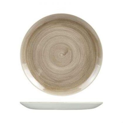 STONECAST PATINA TAUPE Coupe Plate 165mm 9978116-T