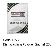 ROSCHE DISHWASHING POWDER SACHET 20G( 300 PER CAR)