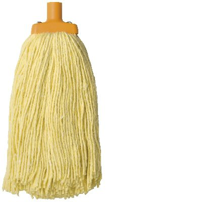 MOP HEAD OATES DURACLEAN ROUND YELLOW