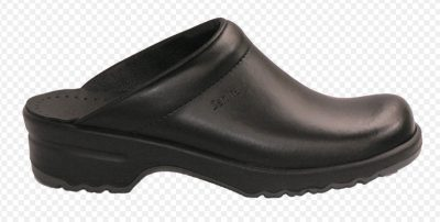 SAN NITRIL OPEN CLOG BLACK EU 38 (Pair)