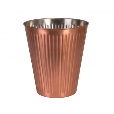 MODA WINE BUCKET RIBBED COPPER
