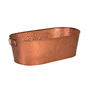 MODA BEVERAGE TUB 530X290 COPPER