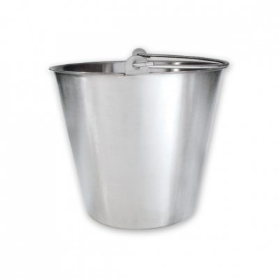 BUCKET 13L S/S  310dia x 265mm H