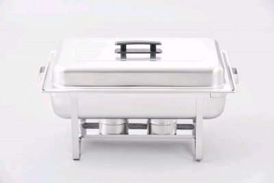 CHAFING DISH ECO-DELUXE STACKABLE S/S 8QT