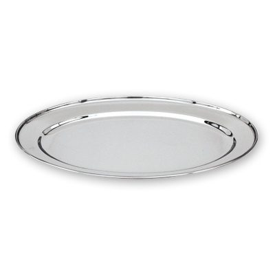 PLATTER OVAL S/S 500x350mm