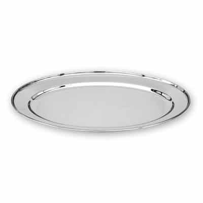 PLATTER OVAL S/S 550x380mm