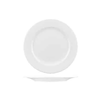 Classicware 205mm Round Plate Wide Rim 1103