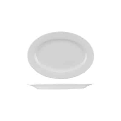 CLassicware 220x145mm Oval Plate 1141