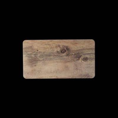 MELAMINE DRIFTWOOD GN 1/3 Flat Tray