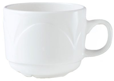 MAN.BIANCO TEACUP STACK 215ml 431