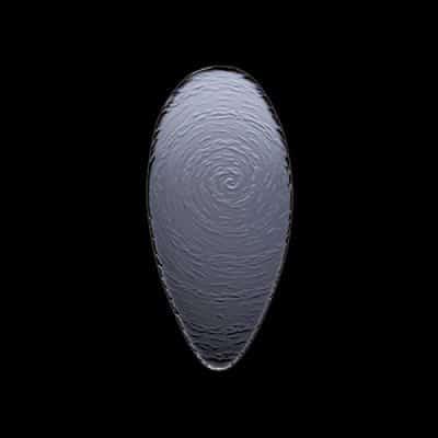 STEELITE SCAPE 30cm Oval Platter GLASS