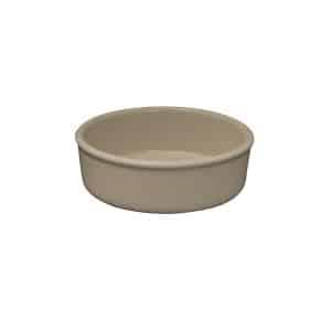 ZUMA SAND CASSEROLE DISH 130X40MM(24/3)