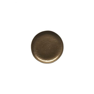VILAMOURA BRONZE ROUND PLATE-220mm COUPE