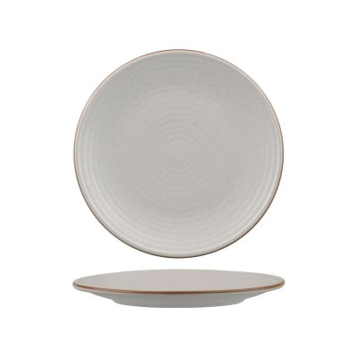 ZUMA MINERAL ROUND PLATE -RIBBED 210MM (24/6)
