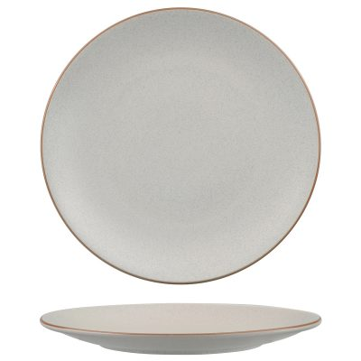 ZUMA MINERAL ROUND COUPE PLATE 285MM (12/6)