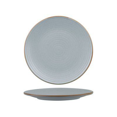 ZUMA BLUESTONE ROUND PLATE -RIBBED 210MM 24/6
