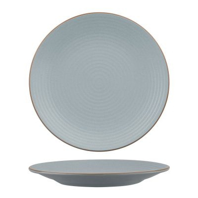 ZUMA BLUESTONE ROUND PLATE -RIBBED 310MM 9/3