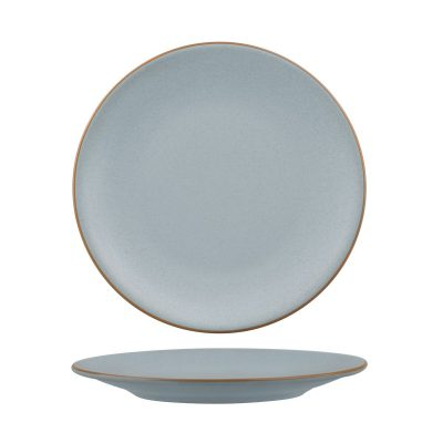 ZUMA BLUESTONE ROUND COUPE PLATE 230MM 24/6