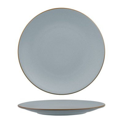 ZUMA BLUESTONE ROUND COUPE PLATE 285MM 12/6