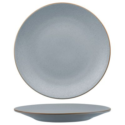 ZUMA BLUESTONE ROUND COUPE PLATE 310MM 9/3