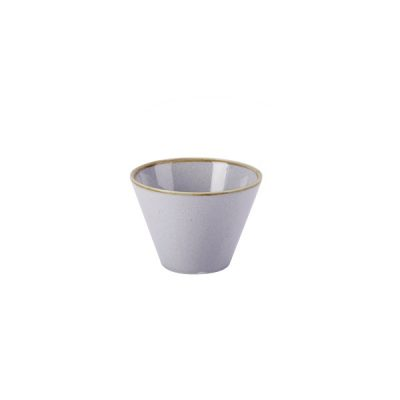SEASONS CONIC BOWL 110mm STONE S368211ST