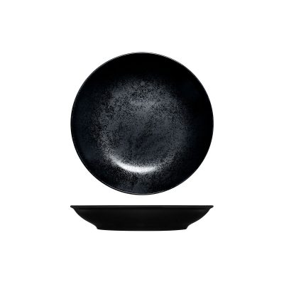 RAK KARBON DEEP COUPE PLATE 230MM BLACK