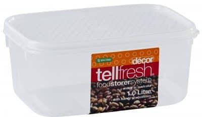 DECOR TELLFRESH OBLONG 1L