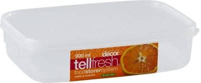 DECOR TELLFRESH OBLONG 900ML 2560