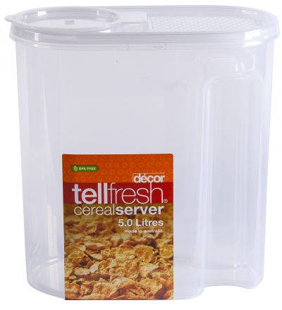 DECOR CEREAL CONTAINER 5.0L 720.00