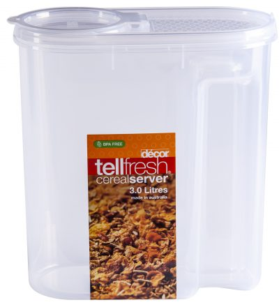 DECOR CEREAL CONTAINER 3.0L