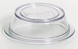 KH PLATE COVER CLEAR 125MM [12]