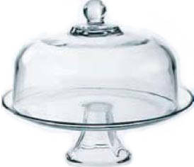 CAKE DOME GLASS 28.7cm