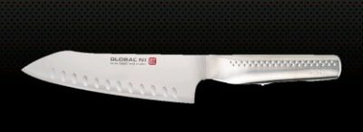 GLOBAL NI VEGETABLE KNIFE -FLUTED BLADE 18CM