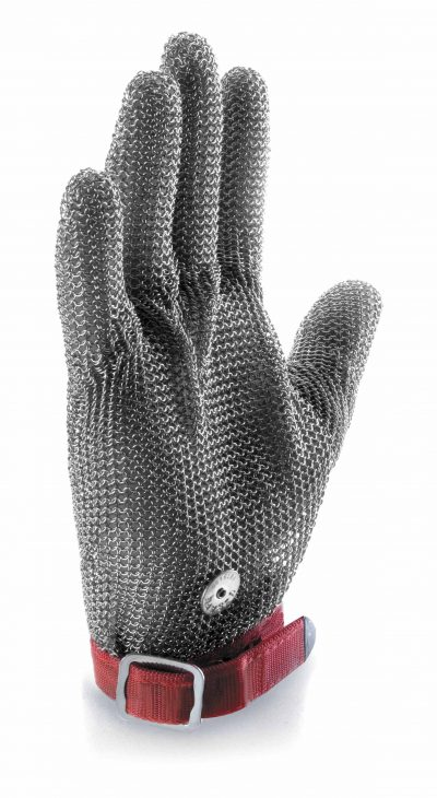 CHAINMAN MESH GLOVE MED (Size 8/ 192mm) Red