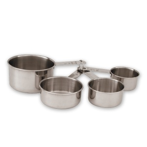 MEASURING CUP SET S/S 4PCE
