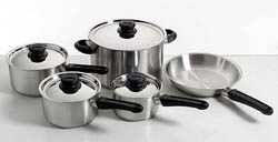 COOKWARE SET S/S KHA 5PC