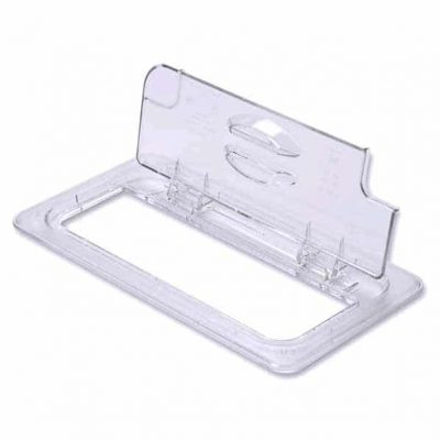 CAMBRO GN1/6 NOTCHED FLIPLID 60CWLD