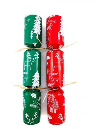 BON BON CHRISTMAS RED & GREEN (50pcs) ECO FRIENDLY