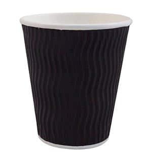 COFFEE CUP PAPER BLACK 12oz(500pcs)