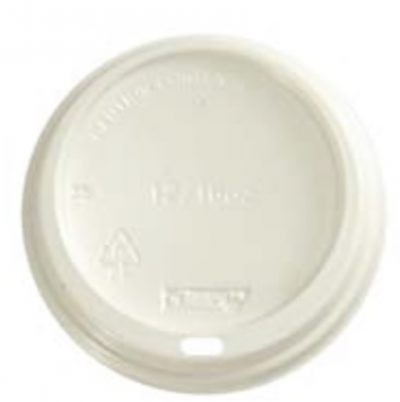 LID FOR DISPOSABLE COFFEE CUPS 12/16oz W (1000pcs)