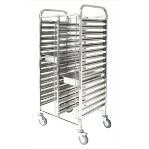 TROLLEY GASTRONORM DOUBLE (16×2)