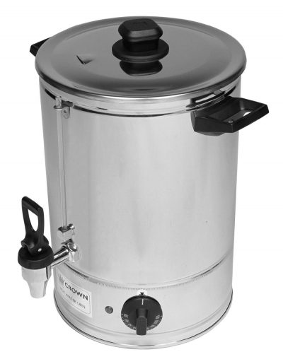 HOT WATER URN 40L -- CROWN MADE IN AUSTRALIA