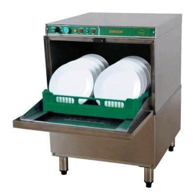ESWOOD U/C DISHWASHER UC25N inc rinse+ drain pump