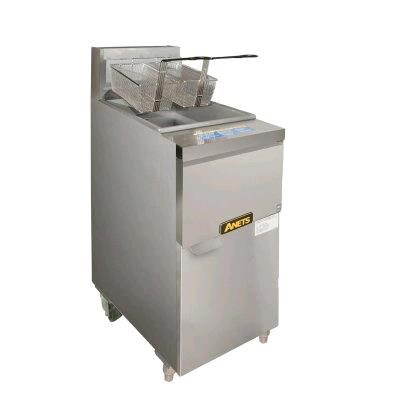 ANETS OPEN POT FRYER HIGH PERFORMANCE 22L 14GS.CS