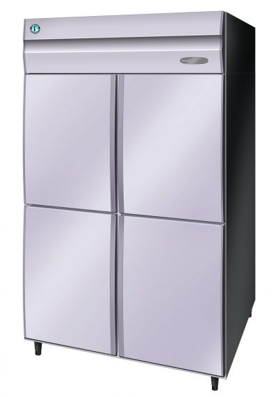HOSHIZAKI 2 DOOR (4-comp) UPRIGHT S/S FRIDGE HRE-128MA