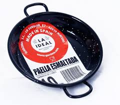 PAELLA PAN ENAMELLED 10cm (mini) (60170)