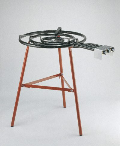 PAELLA BURNER STAND (Only)  RED 3 LEGS, REINFORCED
